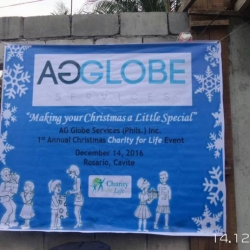 AG Globe Christmas Outreach Program (Philippines)